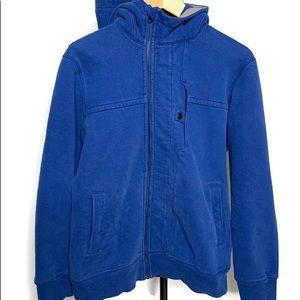 Lululemon Blue Scuba Full Zip Jacket Coat